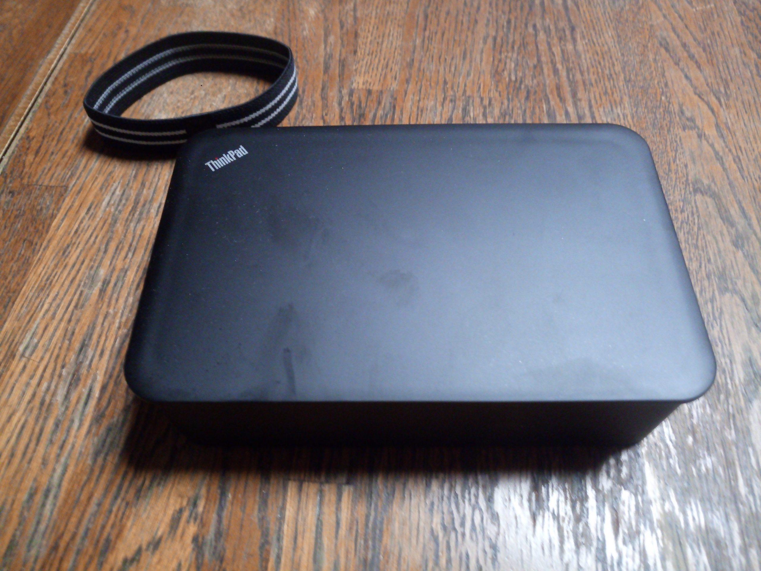 ThinkPad オリジナル弁当箱全景2